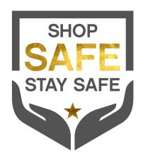 Shop safe stay safe